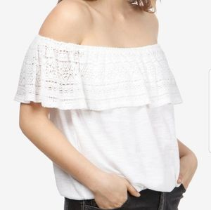 NWT Lucky brand off the shoulder top